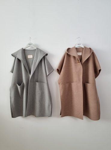 winter coat poncho style