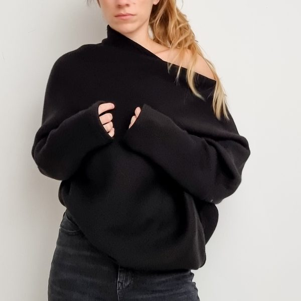 Sweater Trapeze Knit Top